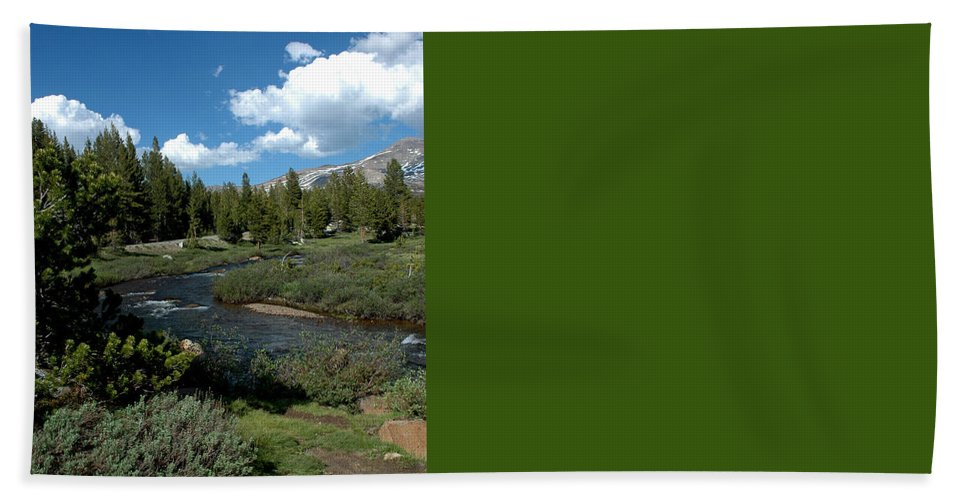 Usa Bath Sheet featuring the photograph Tuolumne Meadows by LeeAnn McLaneGoetz McLaneGoetzStudioLLCcom