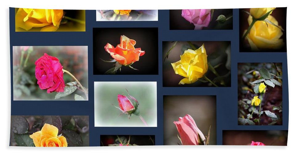 Rose Hand Towel featuring the photograph 2014-03-16 - Rose by Travis Truelove