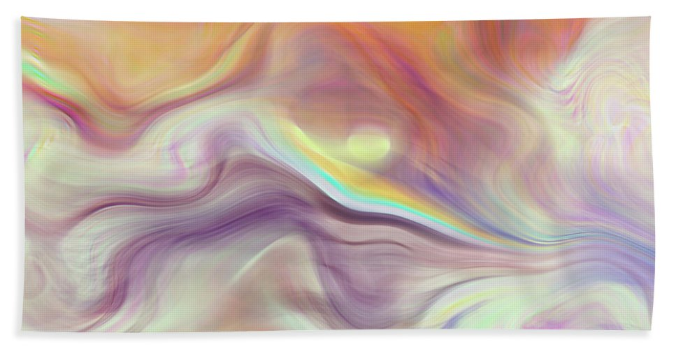 Abstract Hand Towel featuring the photograph Abstract by Galeria Trompiz