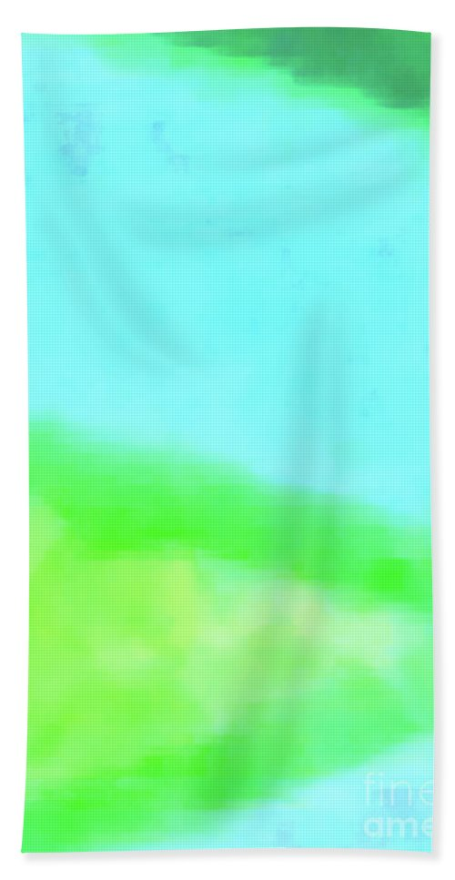 Walter Paul Bebirian Bath Sheet featuring the digital art 3-23-2015babcdefghijklmnopqrtuvwx by Walter Paul Bebirian