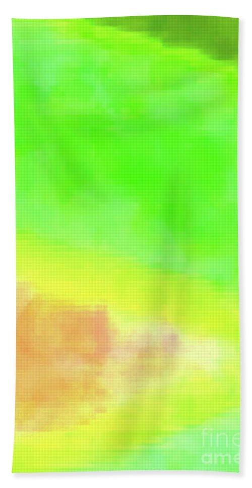 Walter Paul Bebirian Bath Sheet featuring the digital art 3-23-2015babcdefghijklmnopqrtuvwxyzabcde by Walter Paul Bebirian