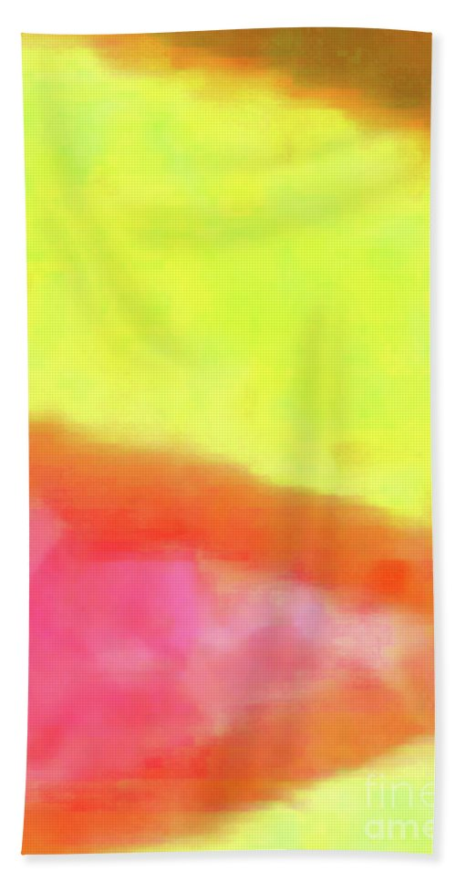 Walter Paul Bebirian Bath Sheet featuring the digital art 3-23-2015babcdefghijklmnopqrtuvwxyzabcdefghij by Walter Paul Bebirian