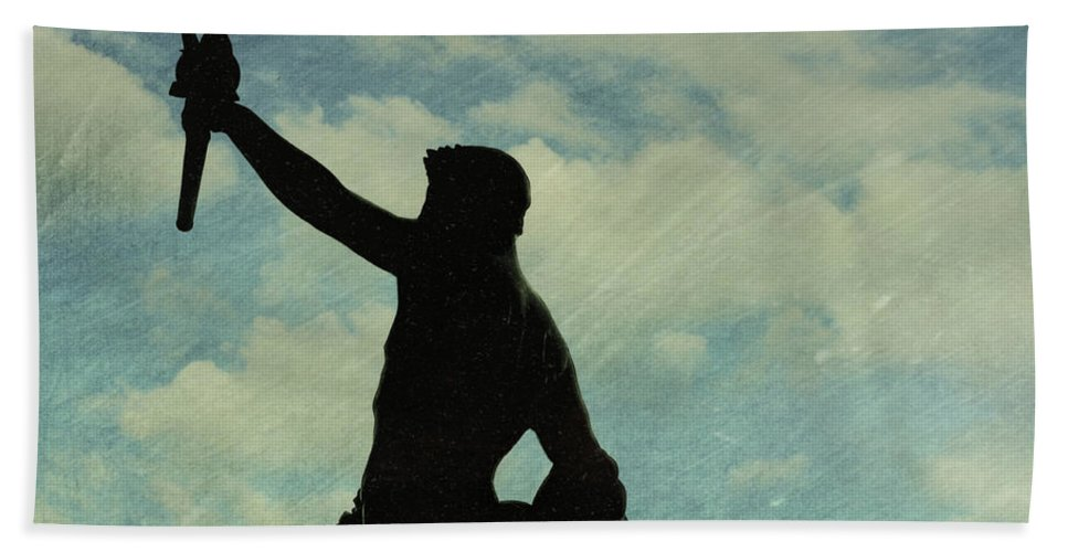 London Bath Sheet featuring the photograph Against The Sky by JAMART Photography