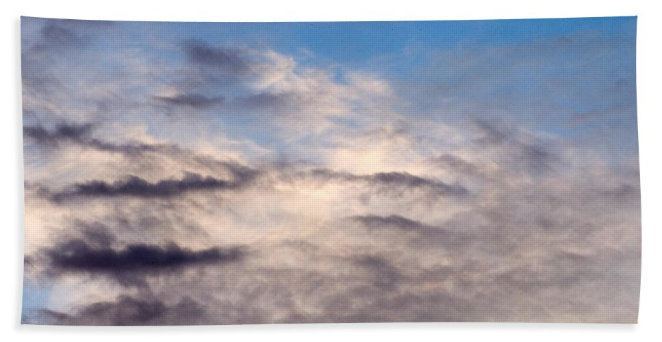 Clay Bath Sheet featuring the photograph Clouds by Clayton Bruster