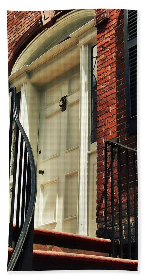 Davenport Bath Sheet featuring the photograph Davenport House Welcome by JAMART Photography