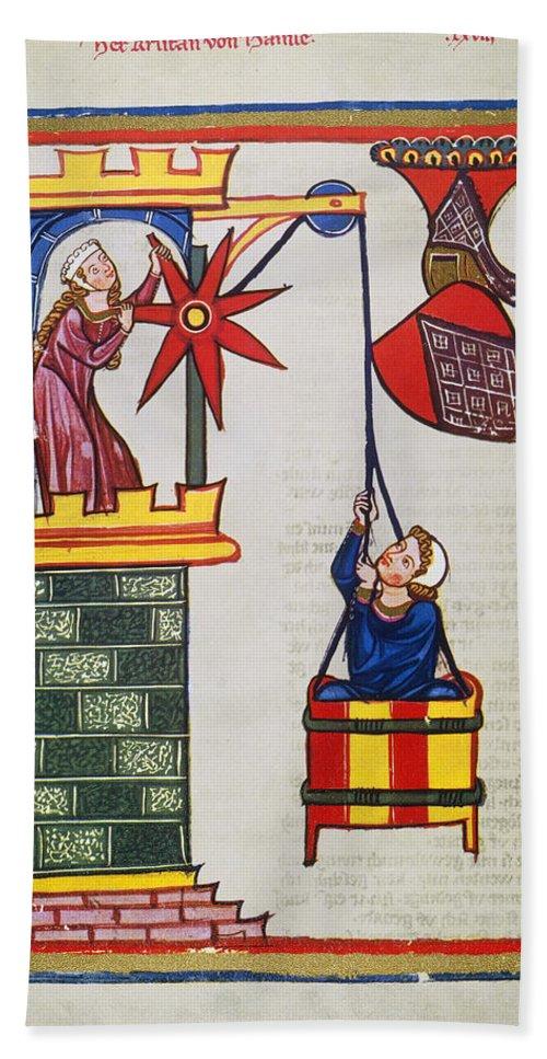 14th Century Bath Sheet featuring the photograph Heidelberg Lieder, 14th C by Granger