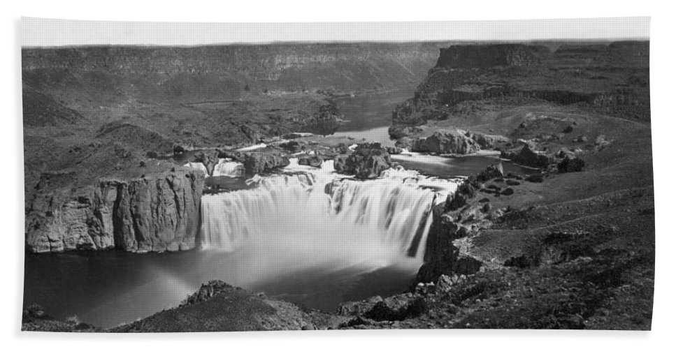1868 Bath Sheet featuring the photograph Idaho: Snake River Canyon by Granger