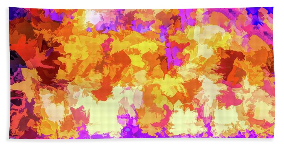 Abstract Bath Sheet featuring the photograph It's An Abstract Day by Robert Kinser