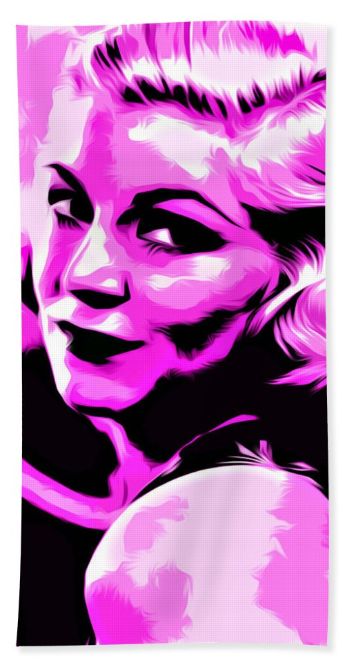 Woman Hand Towel featuring the digital art Untitled by The untalented-talented Artist