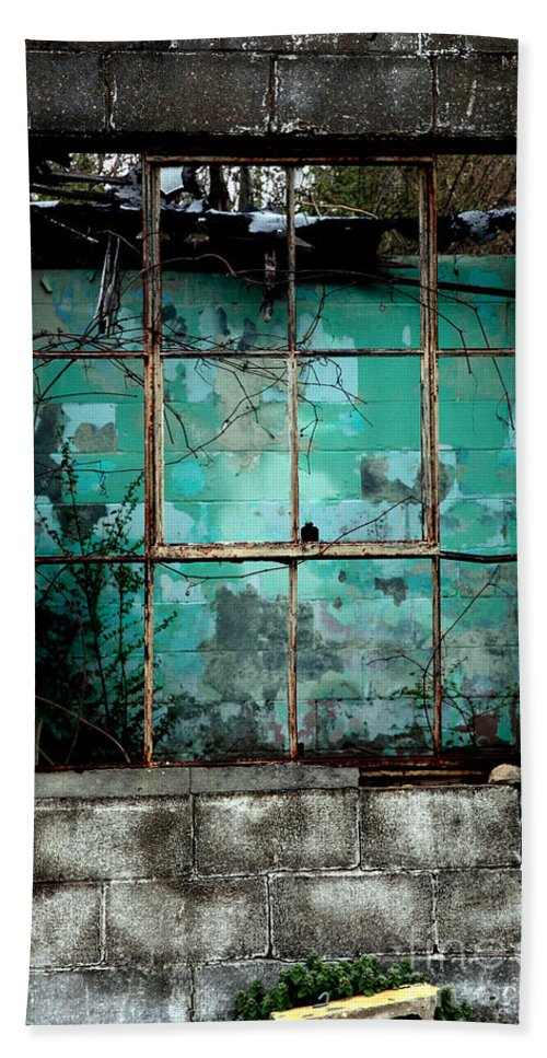 Windows Hand Towel featuring the photograph Window by Amanda Barcon
