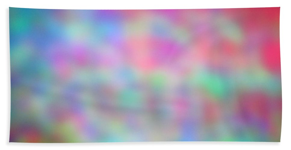 Abstract. Hand Towel featuring the photograph 4-16-18#22 by Mark Mulier
