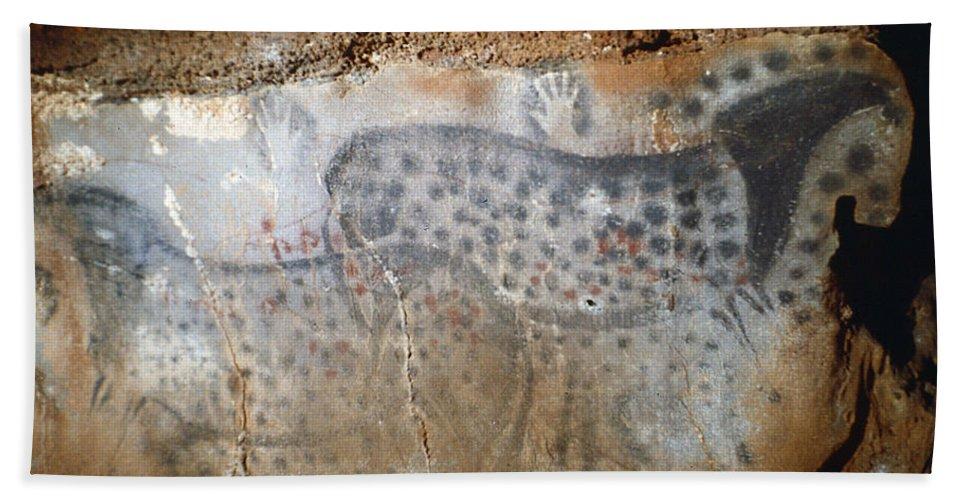 22 Bath Sheet featuring the photograph Cave Art: Horse by Granger