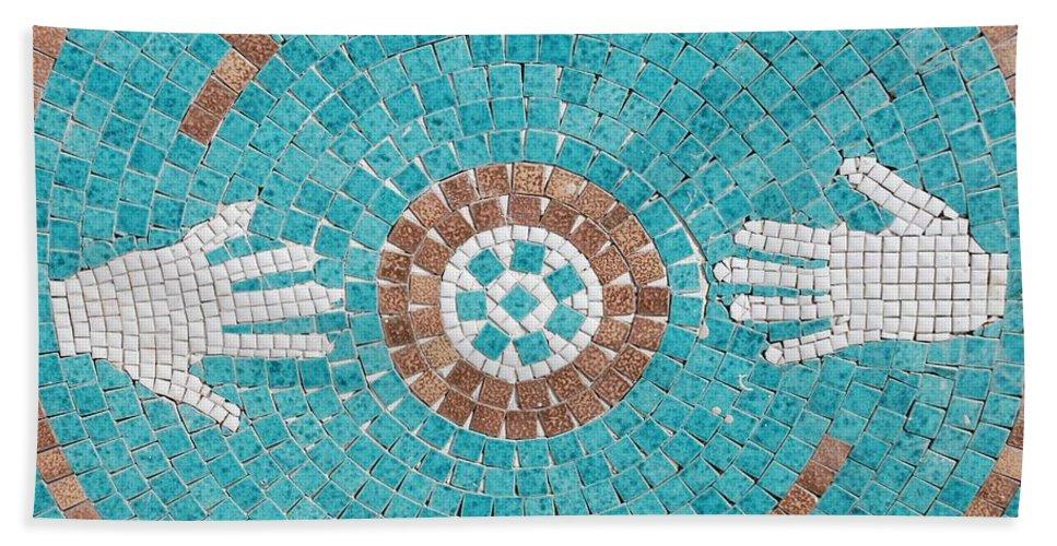 Mosaic Hand Towel featuring the photograph Hans Mosaic by Rob Hans