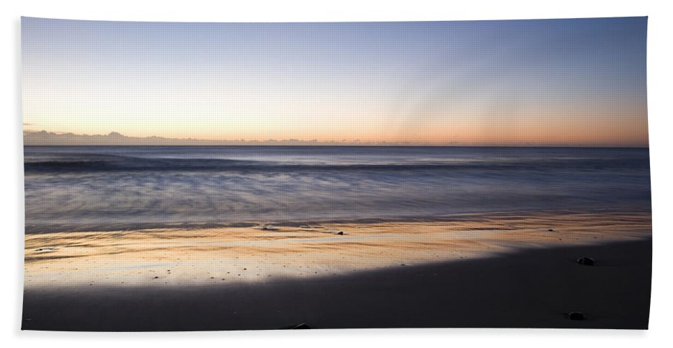 Coast Bath Sheet featuring the photograph Irish Dawn by Ian Middleton