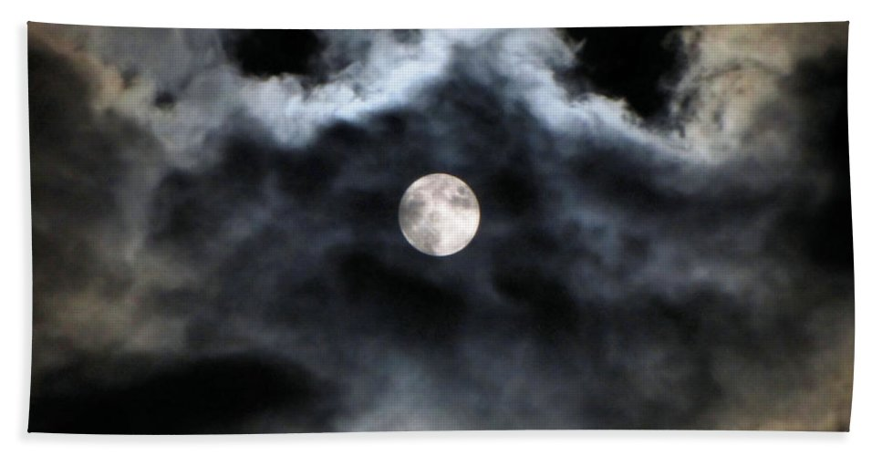 Lunar Bath Towel featuring the photograph Lisas Wildlife Moons 2 by September Stone