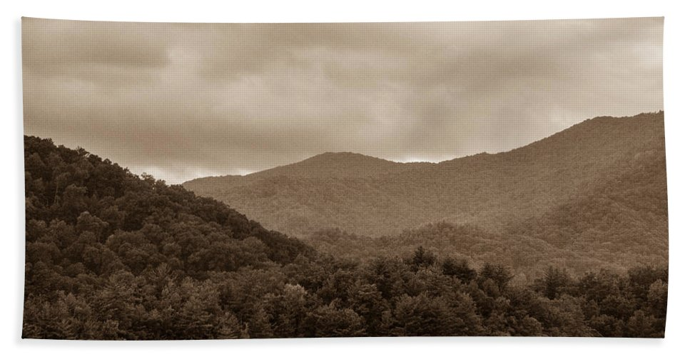 Nature Bath Towel featuring the photograph Nature Landscapes Around Lake Santeetlah North Carolina by Alex Grichenko