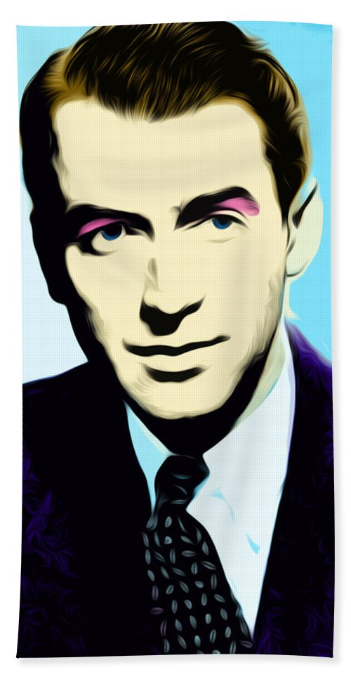 James Stewart Hand Towel featuring the digital art Untitled by The untalented-talented Artist
