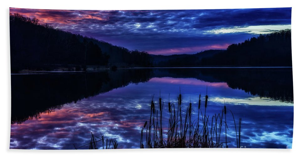 Lake Bath Sheet featuring the photograph Winter Dawn by Thomas R Fletcher