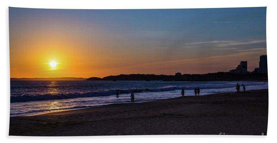 Portugal . Algarve Hand Towel featuring the photograph Portugal by Mariusz Czajkowski