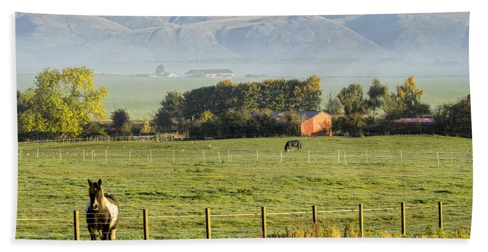 Sony Hand Towel featuring the photograph Scottish Scenery by Jeremy Lavender Photography