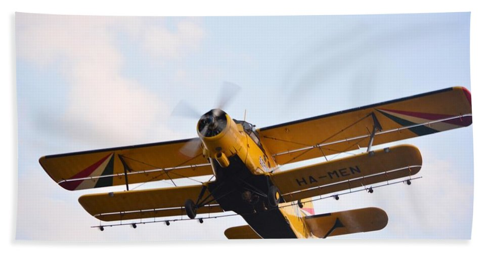 Aviation Hand Towel featuring the photograph Aircraft by FL collection