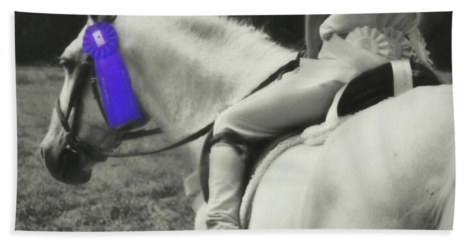 Horse Bath Sheet featuring the photograph First Show by JAMART Photography