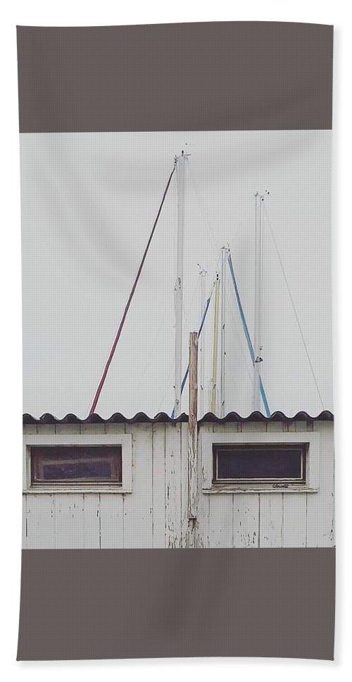 Bath Sheet featuring the photograph Winter by Sebastien Braillon