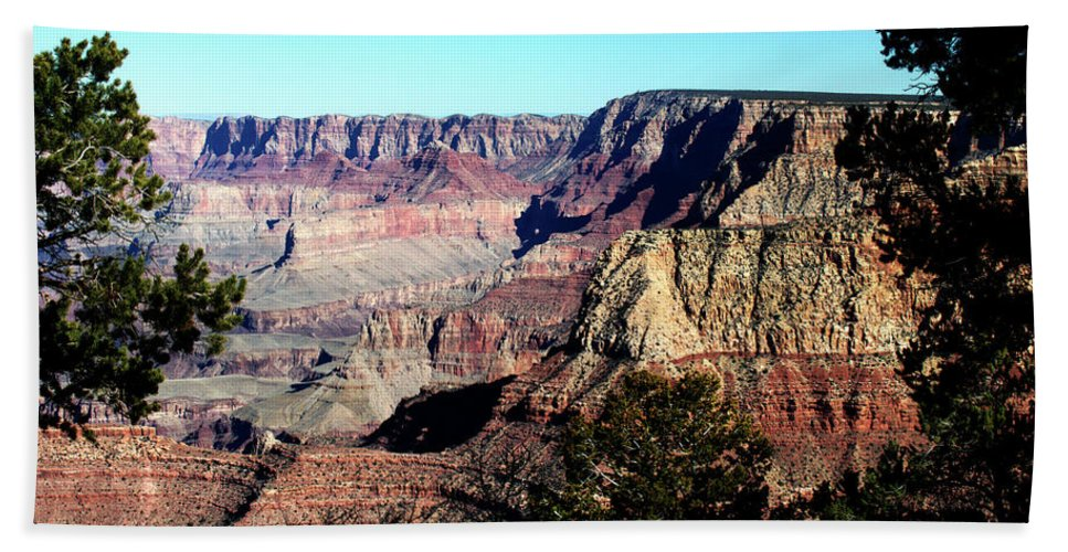 Grand Canyon Hand Towel featuring the photograph Grand Canyon by Paul Cannon