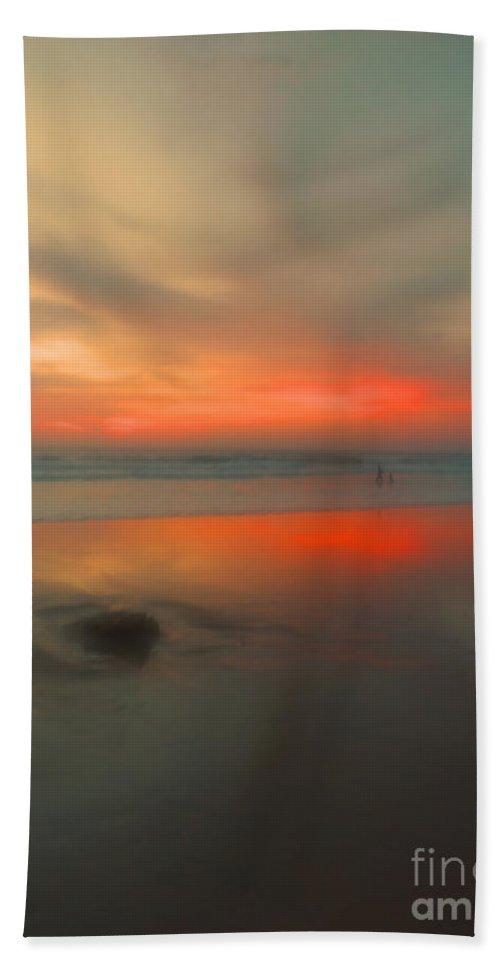 Beach Hand Towel featuring the photograph A Beautiful Blur by Tara Turner