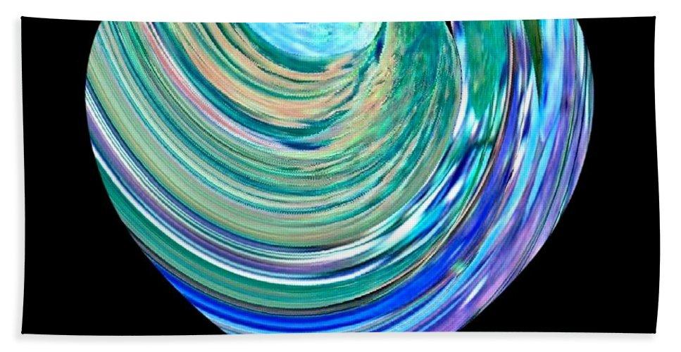 Broken Heart Bath Towel featuring the digital art A Broken Heart by Will Borden