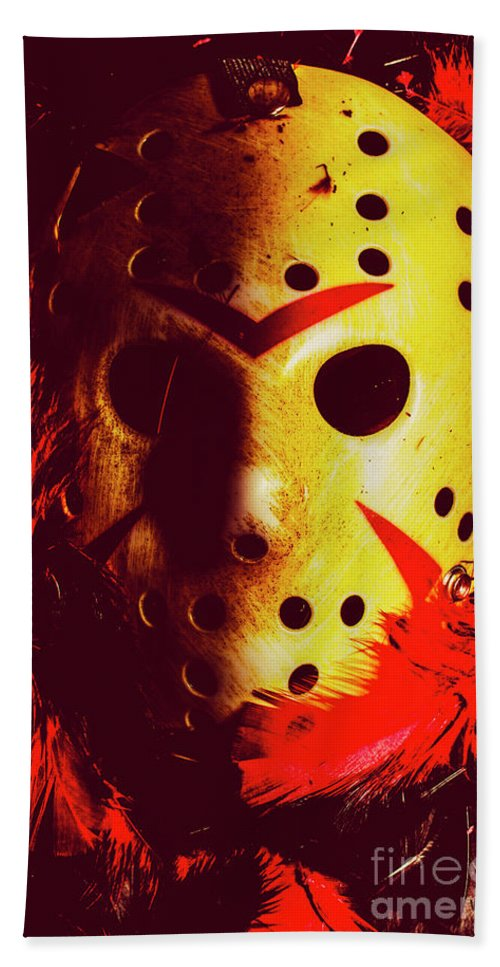 Halloween Hand Towel featuring the photograph A Cinematic Nightmare by Jorgo Photography - Wall Art Gallery