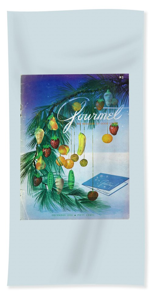 Food Bath Towel featuring the photograph A Gourmet Cover Of Marzipan Fruit by Henry Stahlhut