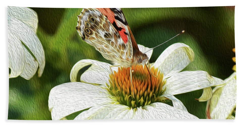 Floral Hand Towel featuring the photograph A Moment Comes by Tracie Fernandez