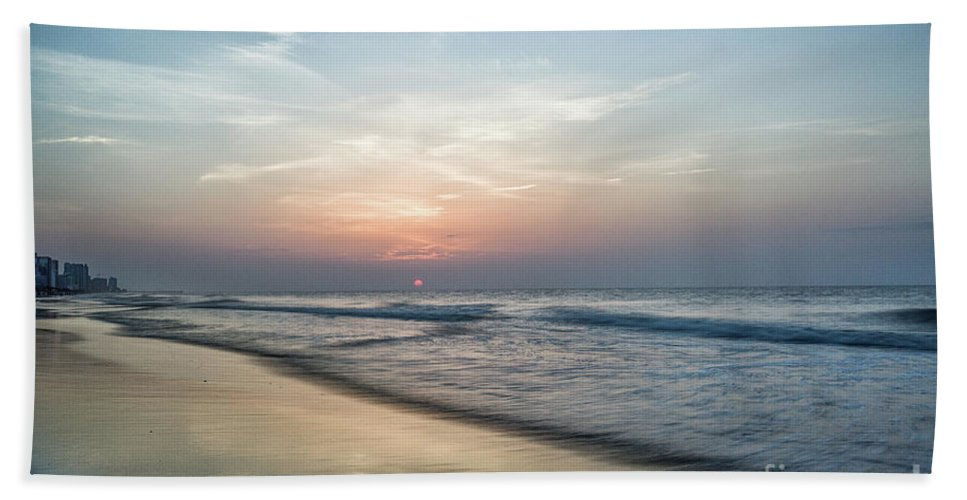 A New Morning Bath Sheet featuring the photograph A New Morning by Christine Martin-Lizzul
