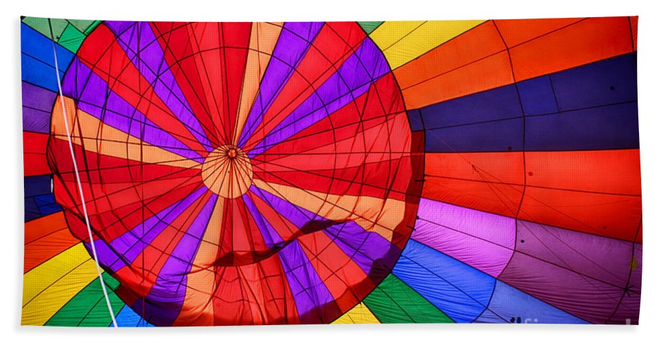 Temecula Bath Sheet featuring the photograph Temecula, Ca - A Rainbow Of Colors by Tommy Anderson