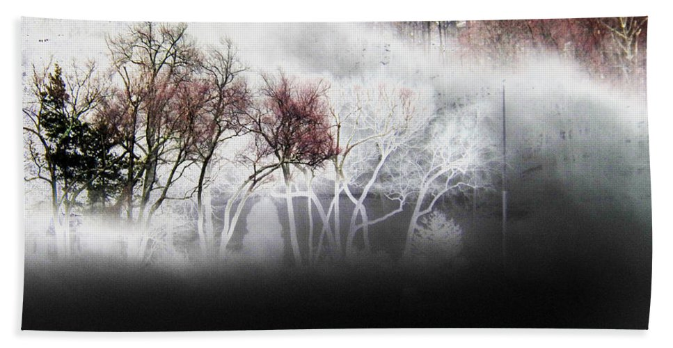 Dream Hand Towel featuring the photograph A Recurring Dream by Steven Huszar