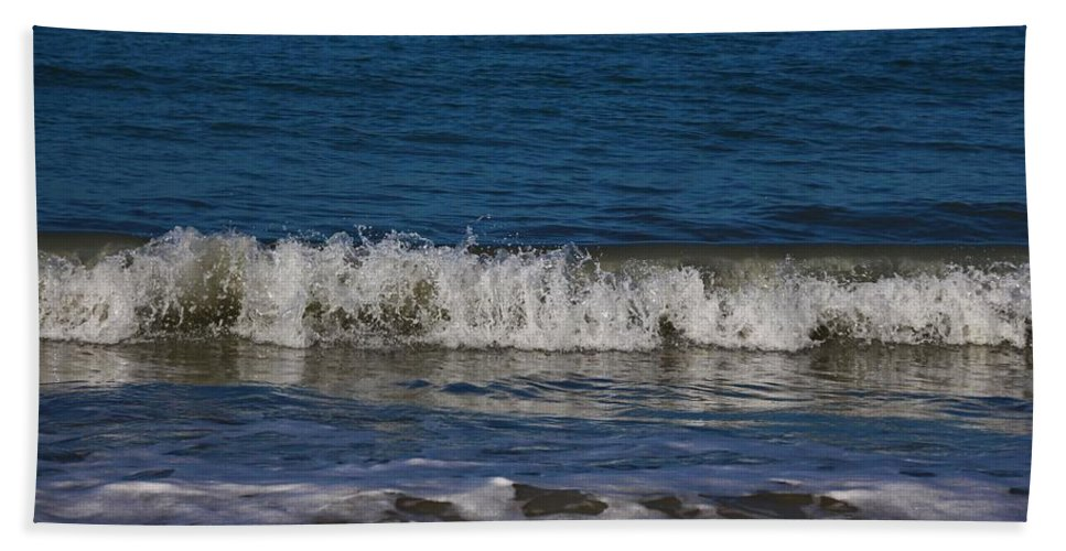 Sea Hand Towel featuring the photograph A Sea Of Delight by Michiale Schneider
