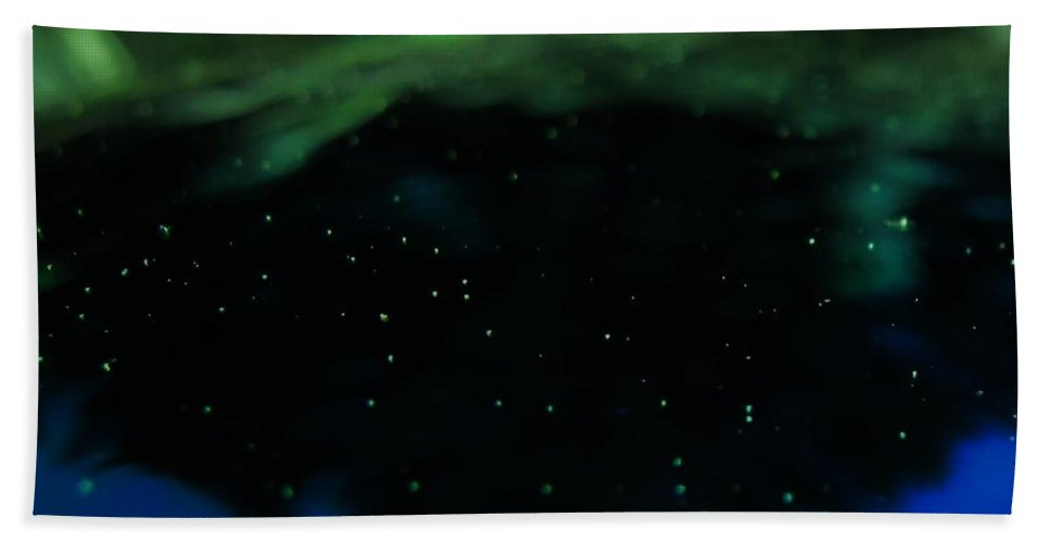 Space Hand Towel featuring the photograph A View From The Heavens by Wendy Rickwalt