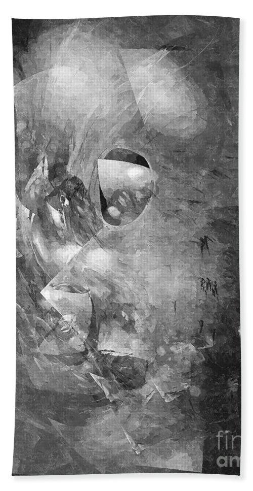 Graphics Hand Towel featuring the digital art Abs 0494 by Marek Lutek