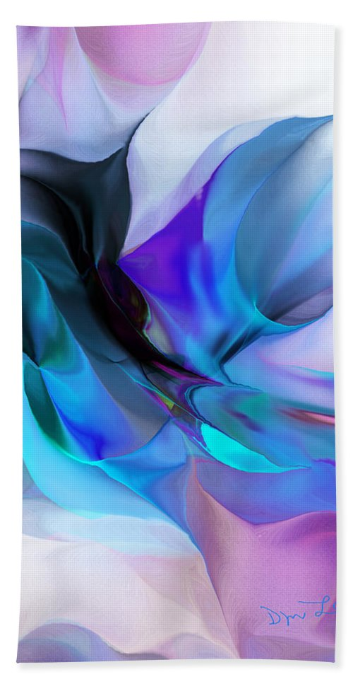 Fine Art Hand Towel featuring the digital art Abstract 012513 by David Lane