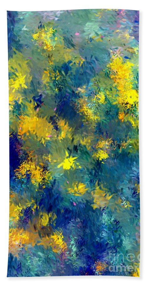 Abstract Hand Towel featuring the photograph Abstract 06-28-09 by David Lane