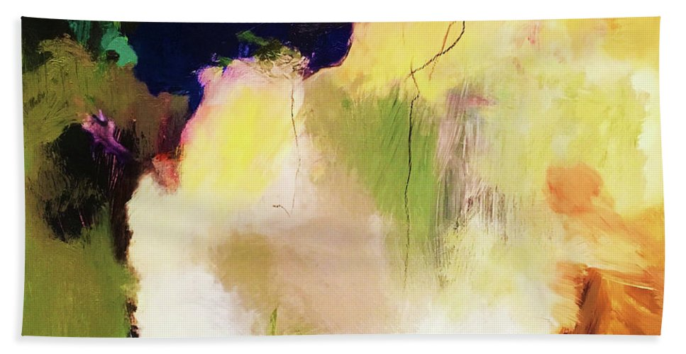 Abstract Hand Towel featuring the photograph Abstract #36 by Anthony Djordjevic
