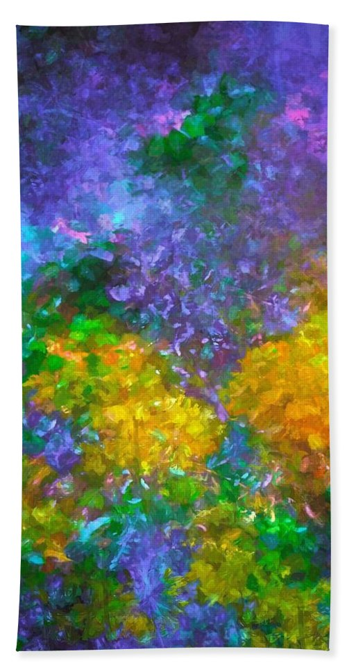 Abstract Bath Sheet featuring the photograph Abstract 92 by Pamela Cooper