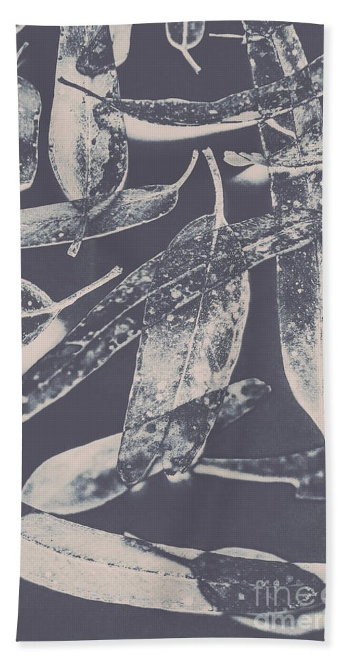 Gum Bath Towel featuring the photograph Abstract Design Tree Leaves Background by Jorgo Photography - Wall Art Gallery