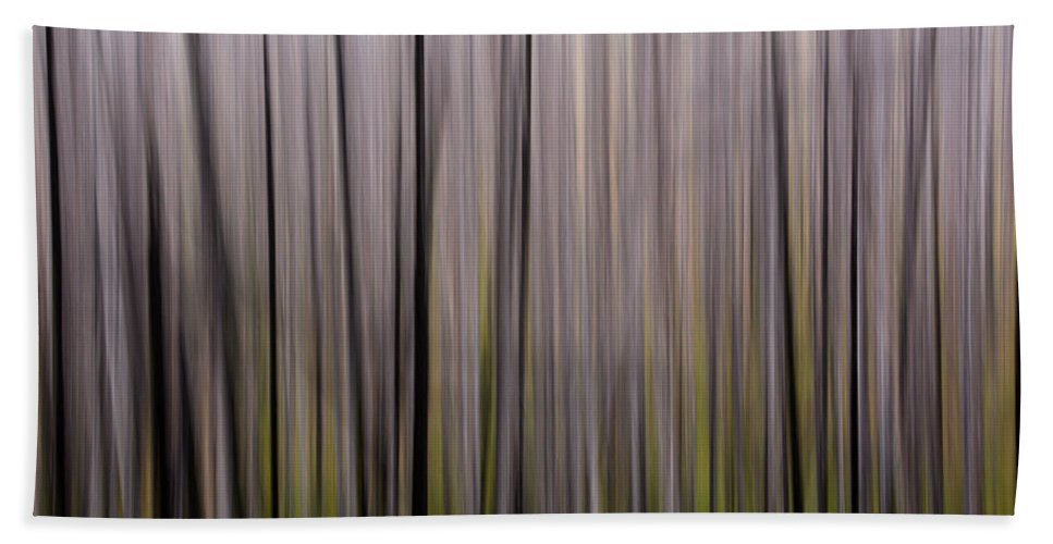 Forest Hand Towel featuring the photograph Abstract Forest by Whispering Peaks Photography