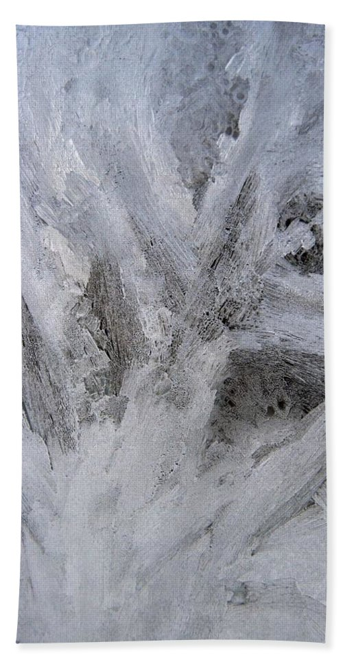 Ice Bath Sheet featuring the photograph Abstract Of Ice by Rhonda Barrett
