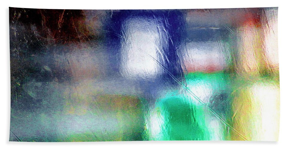 Green Hand Towel featuring the photograph Abstraction by Prakash Ghai