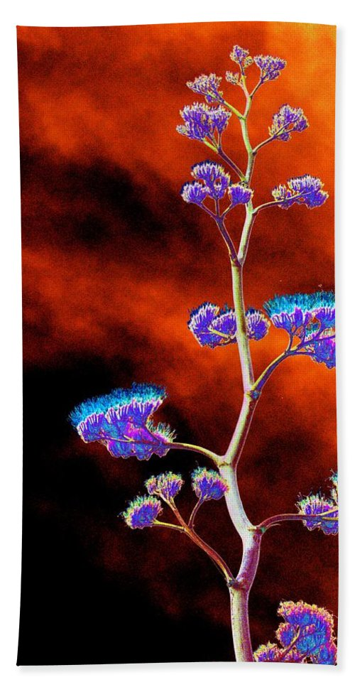 Agave Bath Towel featuring the photograph Agave Through Tequila Eyes by Richard Henne