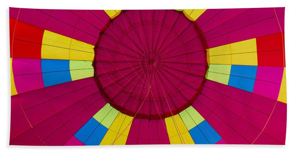 Hot Air Balloon Bath Sheet featuring the photograph Air Balloon 1640 by Terri Winkler