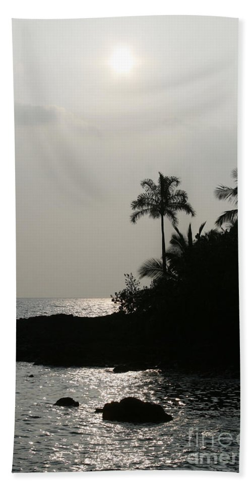Aloha Bath Sheet featuring the photograph Alabaster Sunset Makena Landing Maui Hawaii by Sharon Mau